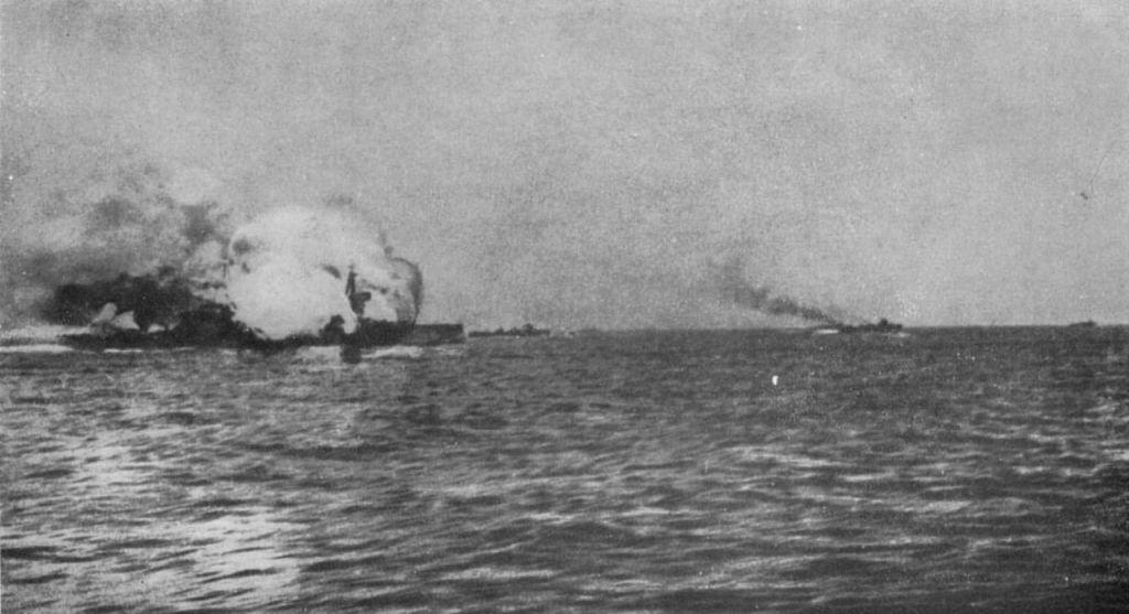 История Ютландского морского сражения (1916)